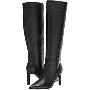 "Nine West ""Maxim"" Black tall boot NEW pointy toe"